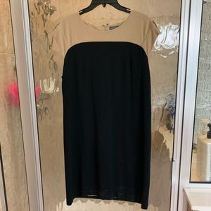Black and Tan Vince Camuto dress